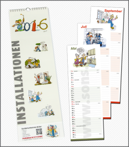 Kalender Installationen 2016