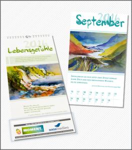 """Kalender """"Lebensgefühle 2016"""""""