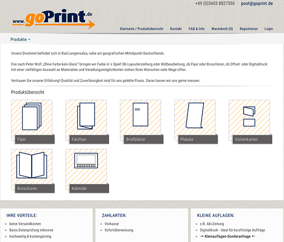 Online-Druckerei goprint.de